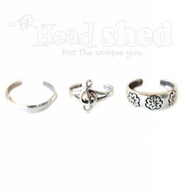 Sterling Silver Toe Rings - Asst. Designs