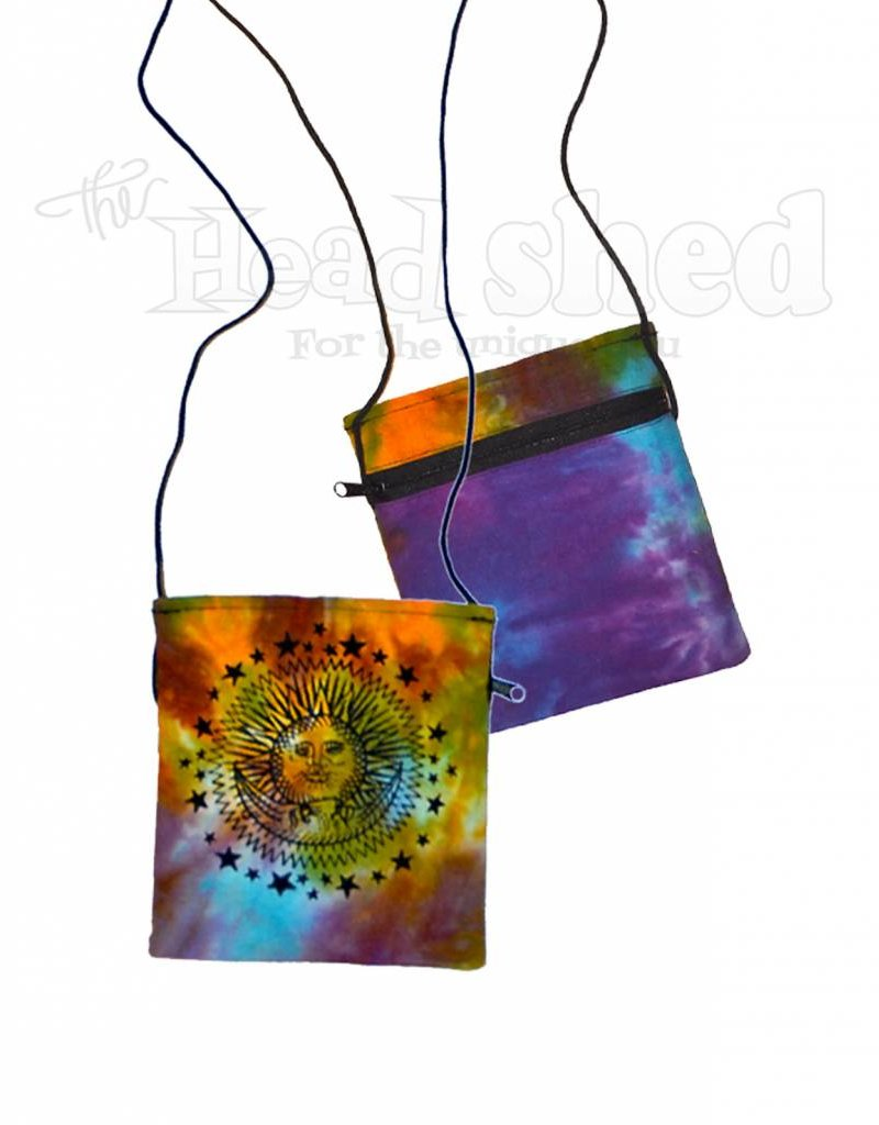 Astral Celestial Tie Dye Pouch