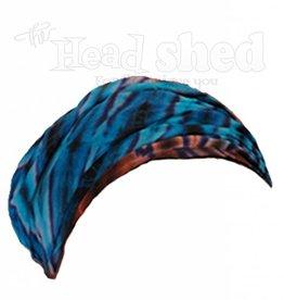 Tie Dye Rayon Expandable Headband/Kerchief