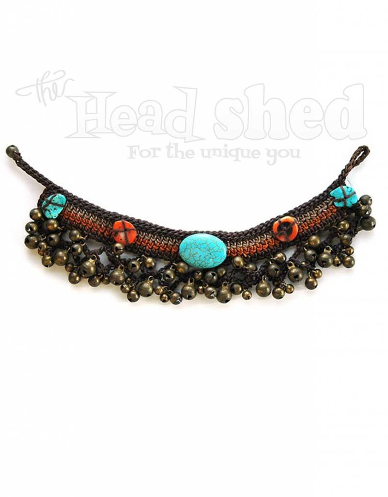 Braided Jingle Jangle Anklet w/ Tones