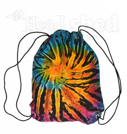 Electric Forest Tie Dye Drawstring Backpack