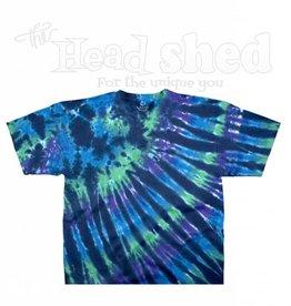 Liquid Blue Liquid Blue Tie Dye T-Shirt - Cool Nebula
