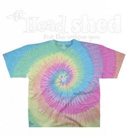 Liquid Blue Liquid Blue Tie Dye T-Shirt - Pastel Spiral