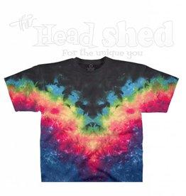 Liquid Blue Liquid Blue Tie Dye T-Shirt - Symmetrical