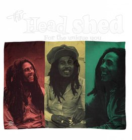 Fabric Poster Bob Marley Color Rasta Collage