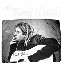 Fabric Poster Kurt Cobain - B&W