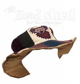 Patchwork Corduroy w/ Dancing Bear Hat