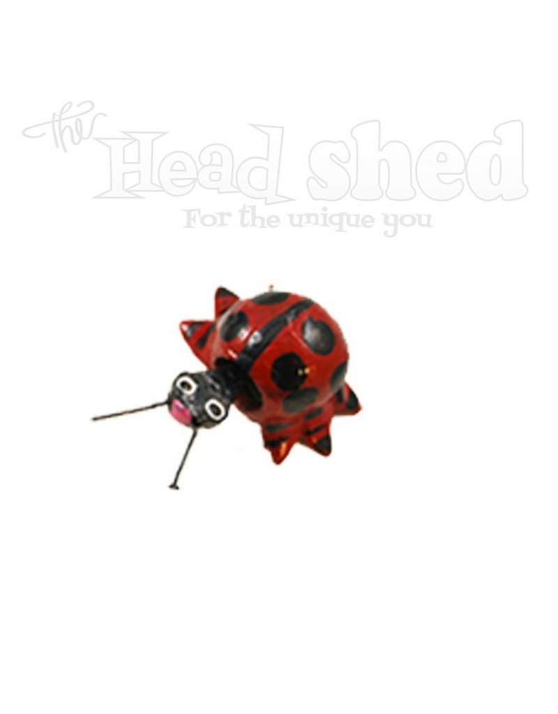 Bobblehead Lady Bug