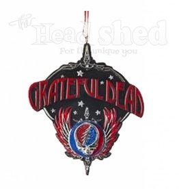 Grateful Dead w/ Wings Ornament