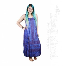 Ladies - OM Shanti Printed Cotton Maxi Dress