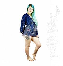 Ladies - Plumage Parade Angelic Flare Sleeve Blouse