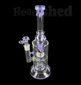 Nite Rider - Water Pipe - Honeybee w/ Honey Drip Double Shower Head
