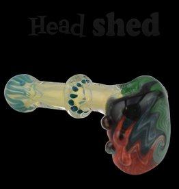 Nite Rider - Handpipe - Wig Wag Head w/ Fumed Mouthpiece
