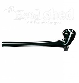 Nite Rider - Handpipe - Large Pin Striped Briar