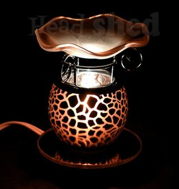 Scentoils Oil Lamp - Amber w/ Giraffe Print