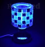 Aromar -  LED Oil Lamp - Black/White