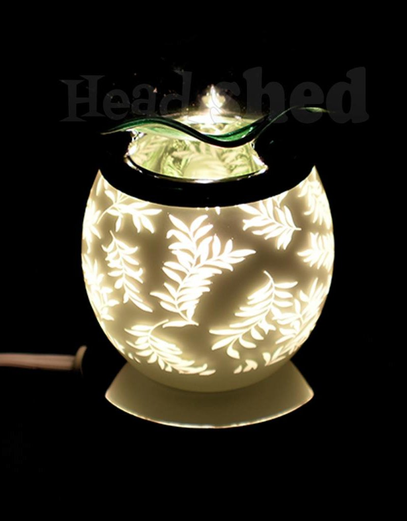 Aromar -  Touch Oil Lamp - Green Leafs