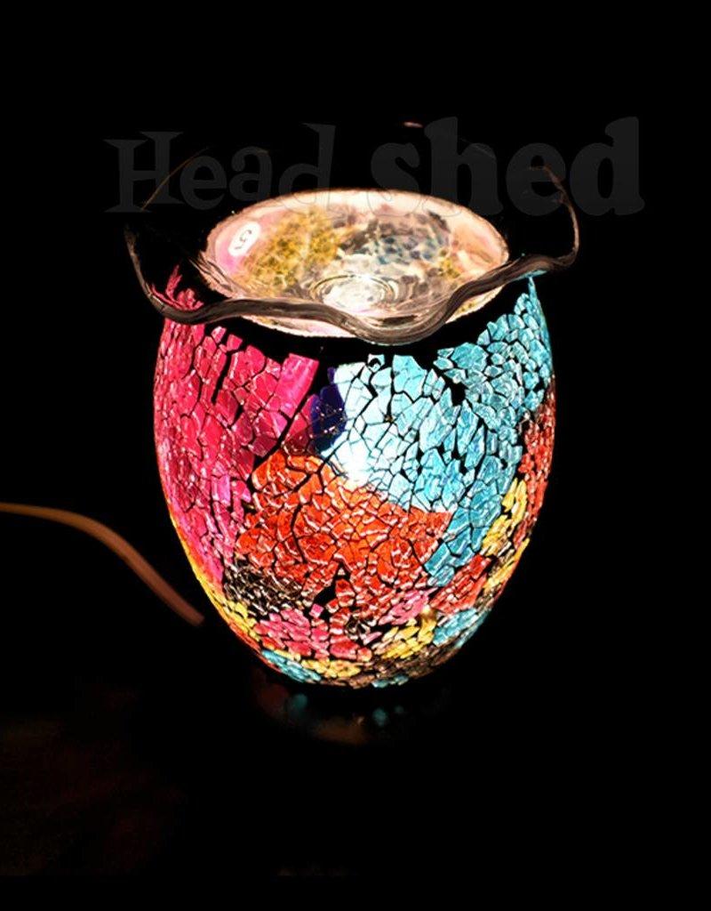 Aromar -  Vitral Oil Lamp - Pink/Gray