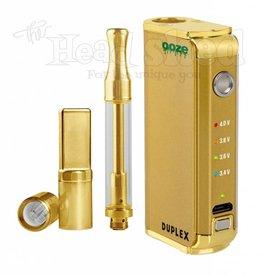 Ooze Ooze Duplex Duel Extract Vaporizer - Gold