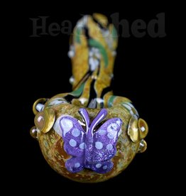 Empire Glassworks Empire Glassworks Spoon Butterfly - Viola
