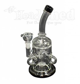 Hillside Glass - Showerhead w/ Internal Recycler Water Pipe