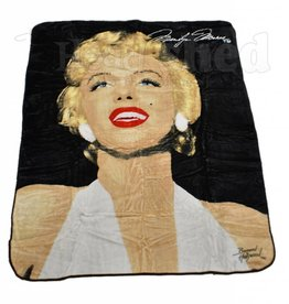 Luxury Plush Blanket - Queen - Marilyn Monroe - Legend