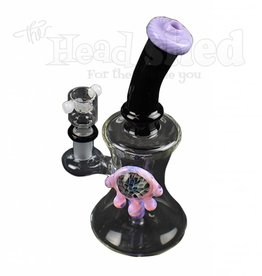 Nite Rider - Water Pipe - Pink Slime Two Toned w/ Hourglass Body