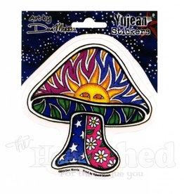 Skeye Sticker - Sun Mushroom