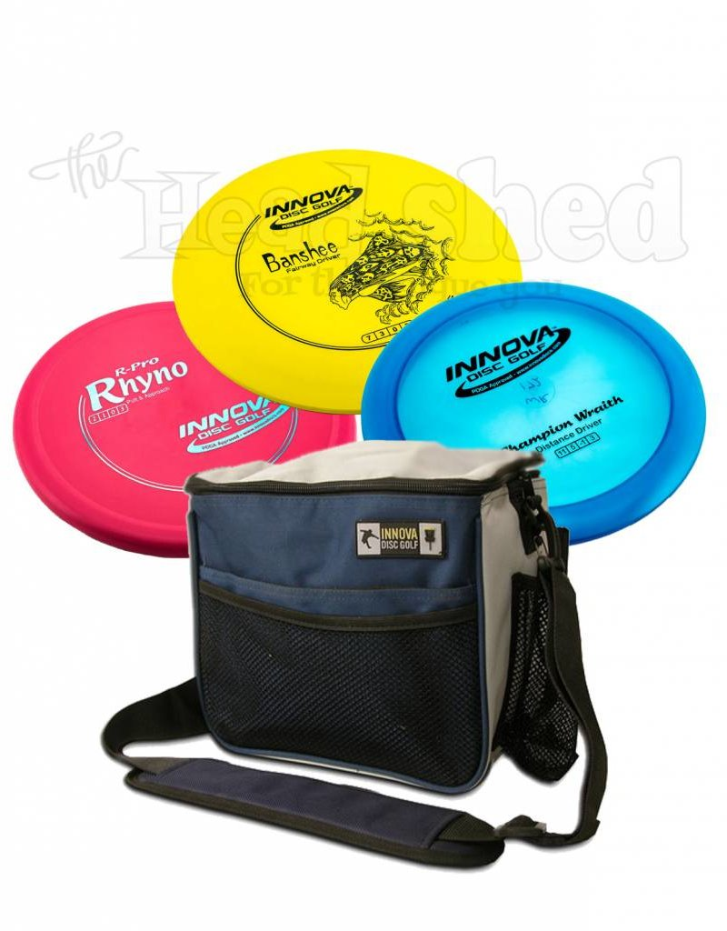 The Head Shed Disc Golf Beginner's Bundle