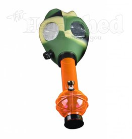 Gas Mask Camo w/ Acrylic Bottle (5421)