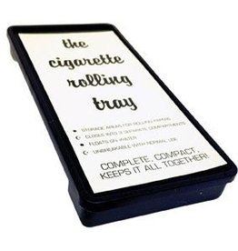 The Station Cigarette Rolling Trays Black