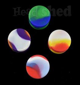 Multi Colored Silicone Jar - 7ml (5584)