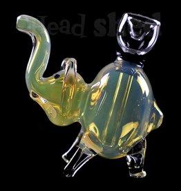 Elephant Bubbler (5356)(WH)