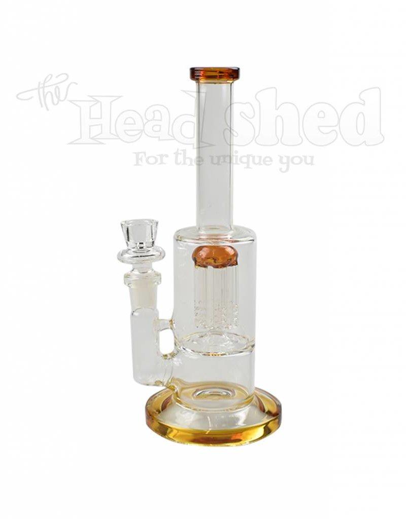"""6 Arm Single  Perk Water Pipe - 9"""" (5414)"""