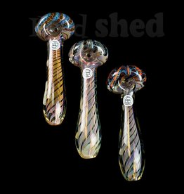 Ohio Valley Glass Ohio Valley Glass Hand Pipe - Cane Head w/ Fume