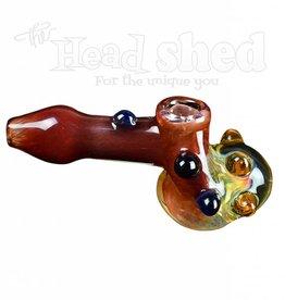 Ohio Valley Glass Ohio Valley Glass Hand Pipe - Hammer w/ Honeycomb