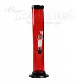 "JM Plastics - Straight GonG - 2""x12"" - Acrylic Water Pipe"