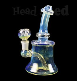 Hillside Glass - Water Pipe w/ Natural Downstem