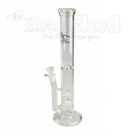 Alpine Glass - Double Honeycomb Perc w/ Ice Disc