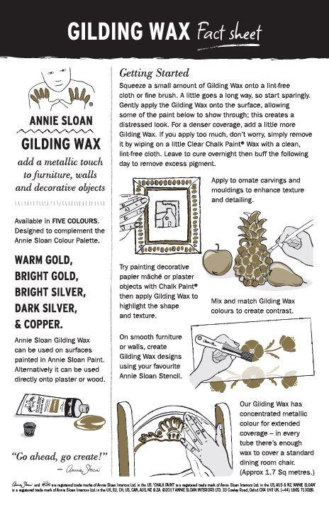 Warm Gold Gilding Wax