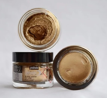 Gilding Wax King Gold