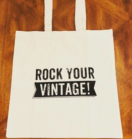 Rock Your Vintage Tote