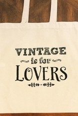 Vintage Is For Lovers Tote