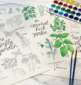 Oct 13: Watercolors 101