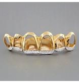 6 Fronts Open Crowns Diamond Cut Trim