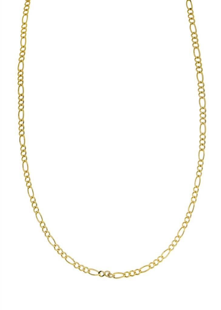 10k Figaro Link NFI822 Chain