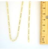 10k Figaro Link NFI820 Chain