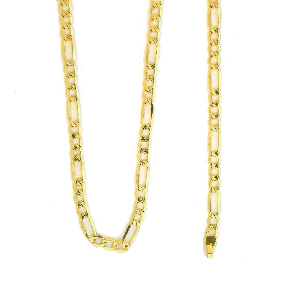 10k Gold Figaro Link NFI817 Chain