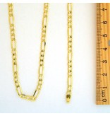 10k Gold Figaro Link NFI817 Chain