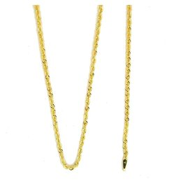 10k Gold Rope NHR537L Chain